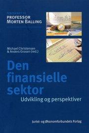 den finansielle sektor - bog