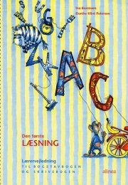 den første læsning, 1.kl. lærervejledning til bogstavbog og skrivebog - bog