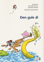 den første læsning, den gule ål - bog