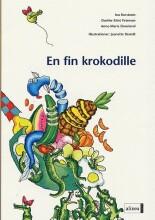 den første læsning, en fin krokodille - bog