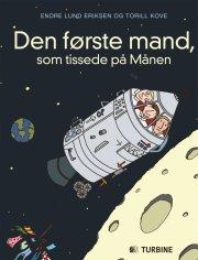 den første mand, som tissede på månen - bog