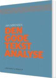 den gode tekstanalyse - bog