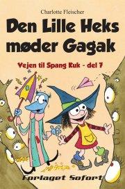 den lille heks møder gagak - bog