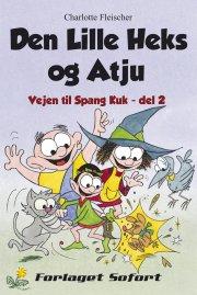 den lille heks og atju - bog