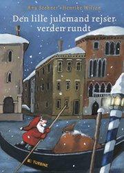 den lille julemand rejser verden rundt - bog