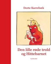 den lille røde trold og hittebarnet - bog