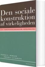 den sociale konstruktion af virkeligheden - bog
