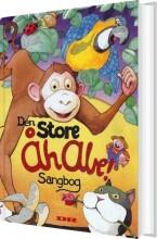 den store åh abe! sangbog - bog