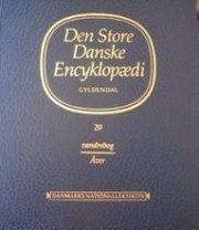 den store danske encyklopædi, indeks 1-2 - bog