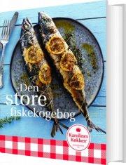 den store fiskekogebog - bog