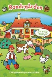 den store flapbog: bondegården - bog