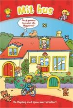 den store flapbog: mit hus - bog