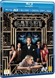 den store gatsby  - 3D + 2D Blu-Ray