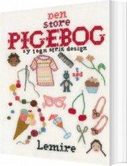 den store pigebog - sy - strik - tegn - design - bog