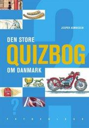 den store quizbog om danmark - bog