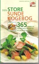 den store sunde kogebog - bog