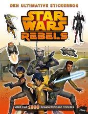 star wars klistermærker / stickers - den ultimative stickerbog om star wars rebels - bog