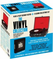 denver pladespiller med indbygget højtaler og 8 lp collections - Tv Og Lyd