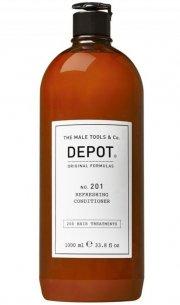 depot the male tools balsam til mænd - no. 201 refreshing conditioner - 1000 ml. - Hårpleje