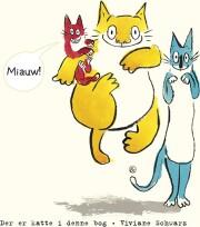 der er katte i denne bog - bog