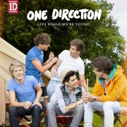 one direction - live while were young - cd