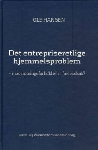 det entrepriseretlige hjemmelsproblem - bog