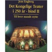det kongelige teater i 250 år - bog
