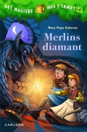 det magiske hus i træet bind 22: merlins diamant - bog