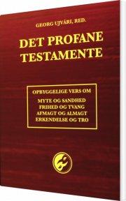 det profane testamente - bog