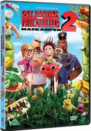 det regner med frikadeller 2 / cloudy with a chance of meatballs 2 - DVD