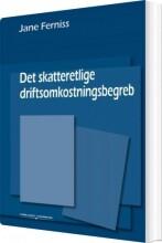 det skatteretlige driftsomkostningsbegreb - bog
