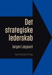 det strategiske lederskab - bog