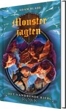 monsterjagten 27 - det vandrende bjerg rokk - bog