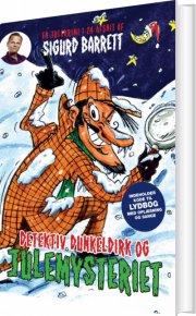 detektiv dunkeldirk og julemysteriet - bog