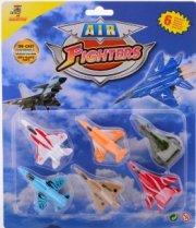 die air fighters aircraft-cast - 6 stk. - Køretøjer Og Fly