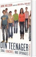 din teenager skal coaches, ikke opdrages - bog