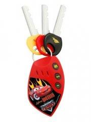 disney's cars / biler - legetøjs nøgler med lyd - Diverse