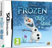 disney frost - olaf's quest - nintendo ds