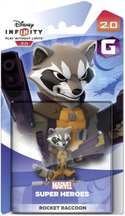 disney infinity 2.0 - rocket raccoon figur - Figurer