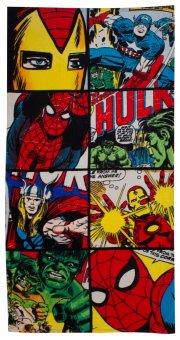 marvel comics defenders superhelte håndklæde - 75x150 cm - Til Boligen