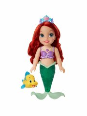 disney princess ariel dukke - havfrue med lys og glimmer hale - Dukker