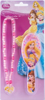 disney prinsesse halskæde + børste - Rolleleg