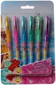 disney prinsesser gel kuglepen - 6 stk - Kreativitet