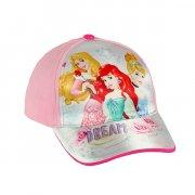 disney prinsesser kasket - lys pink - 50-52 cm. - Diverse