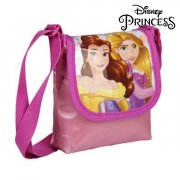 disney prinsesser skuldertaske - belle og rapunzel - 13x16x4 cm. - Diverse