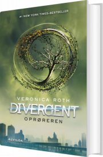 divergent 2: oprøreren - bog