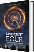 divergent four: tobias' fortællinger - bog
