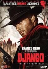 django vestens hævner - 1966 m. franco nero - DVD