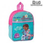 doctora juguetes skoletaske i blå og pink - Skole