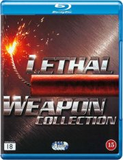 dødbringende våben boks / lethal weapon box 1-4 - Blu-Ray